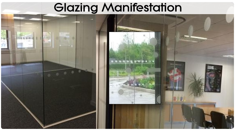 Glazing Manifestation Window Film